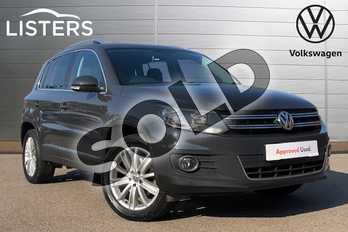 Volkswagen Tiguan 2.0 TDI BlueMotion Tech Match Edition 150 5dr DSG in Urano Grey at Listers Volkswagen Coventry