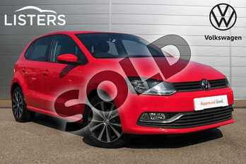 Volkswagen Polo 1.2 TSI Match Edition 5dr in Flash Red at Listers Volkswagen Coventry