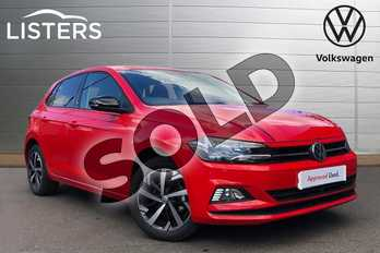Volkswagen Polo 1.0 TSI 95 Beats 5dr in Flash Red at Listers Volkswagen Coventry