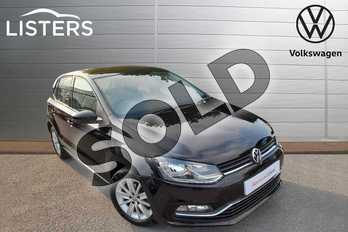 Volkswagen Polo 1.2 TSI SE 5dr in Deep Black at Listers Volkswagen Worcester