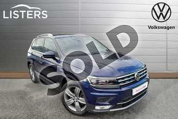 Volkswagen Tiguan 2.0 TSI 180 4Motion SEL 5dr DSG in Atlantic Blue at Listers Volkswagen Worcester