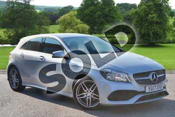 Mercedes-Benz A Class A200d AMG Line 5dr in Polar Silver at Mercedes-Benz of Hull