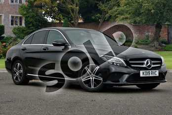 Mercedes-Benz C Class C220d Sport 4dr 9G-Tronic in obsidian black metallic at Mercedes-Benz of Lincoln