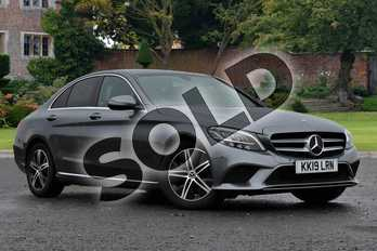 Mercedes-Benz C Class C220d Sport 4dr 9G-Tronic in selenite grey metallic at Mercedes-Benz of Lincoln