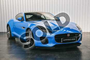 Jaguar F-Type 3.0 V6 Supercharged (380PS) R-DYNAMIC in Ultra Blue at Listers Jaguar Solihull