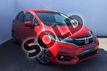 Honda Jazz 1.3 i-VTEC EX 5dr in Milano Red at Listers Honda Solihull