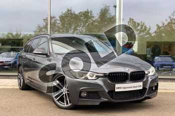 BMW 3 Series 320d M Sport Shadow Edition 5dr Step Auto in Mineral Grey at Listers King's Lynn (BMW)