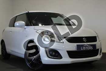 Suzuki Swift 1.2 SZ-L (Nav) 3dr in Pearl - Cool white at Listers U Stratford-upon-Avon