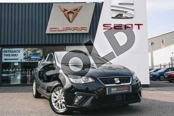 SEAT Ibiza 1.0 TSI 95 SE Technology 5dr in Black at Listers SEAT Coventry