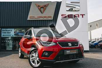 SEAT Arona 1.0 TSI 115 FR 5dr in Desire Red at Listers SEAT Coventry