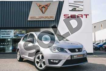 SEAT Ibiza 1.2 TSI 90 FR Technology 5dr in Moonstone Silver at Listers SEAT Coventry