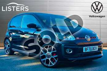 Volkswagen Up 1.0 115PS Up GTI 3dr in Deep black at Listers Volkswagen Coventry