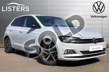 Volkswagen Polo 1.0 EVO 80 Beats 5dr in White Silver at Listers Volkswagen Coventry