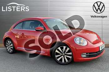 Volkswagen Beetle 1.2 TSI Design 3dr DSG in Tornado Red at Listers Volkswagen Stratford-upon-Avon