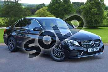 Mercedes-Benz C Class C 220 d AMG Line Edition Saloon in obsidian black metallic at Mercedes-Benz of Grimsby