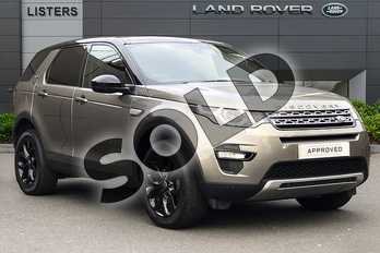 Land Rover Discovery Sport 2.0 TD4 (180hp) HSE in Silicon Silver at Listers Land Rover Hereford