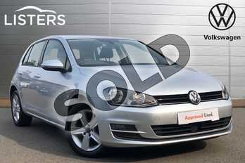 Volkswagen Golf 1.6 TDI 105 Match 5dr in Reflex Silver at Listers Volkswagen Coventry