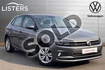 Volkswagen Polo 1.0 EVO SE 5dr in Limestone Grey at Listers Volkswagen Coventry