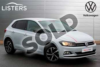 Volkswagen Polo 1.0 TSI 95 Beats 5dr in White Silver at Listers Volkswagen Nuneaton