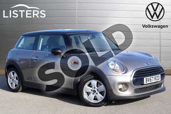 MINI Hatchback 1.5 Cooper 3dr in Melting Silver at Listers Volkswagen Nuneaton