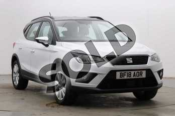 SEAT Arona 1.6 TDI 115 SE Technology Lux 5dr in Nevada White at Listers SEAT Coventry