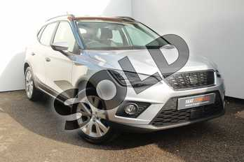 SEAT Arona 1.0 TSI 115 SE Technology 5dr DSG in Silver at Listers SEAT Worcester