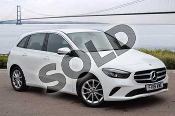 Mercedes-Benz B Class B180d Sport Executive 5dr Auto in Polar White at Mercedes-Benz of Grimsby