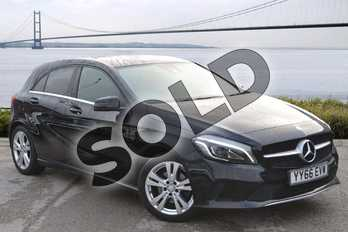 Mercedes-Benz A Class A200d Sport Premium 5dr Auto in Cosmos Black at Mercedes-Benz of Hull