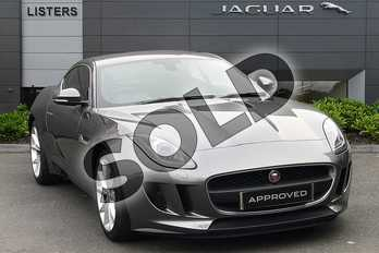 Jaguar F-Type 3.0 V6 Supercharged (340PS) in Corris Grey at Listers Jaguar Droitwich