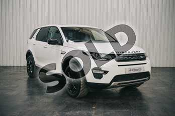 Land Rover Discovery Sport 2.0 TD4 (180hp) HSE in Fuji White at Listers Land Rover Solihull