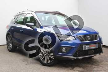 SEAT Arona 1.0 TSI 115 Xcellence (EZ) 5dr in Blue at Listers SEAT Worcester