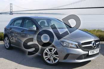 Mercedes-Benz A Class A180d Sport Executive 5dr in Mountain Grey at Mercedes-Benz of Hull