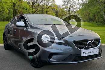 Volvo V40 T3 (152) R DESIGN Pro 5dr Geartronic in Osmium Grey at Listers Volvo Worcester