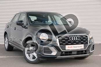 Audi Q2 1.6 TDI Sport 5dr S Tronic in Brilliant Black at Coventry Audi