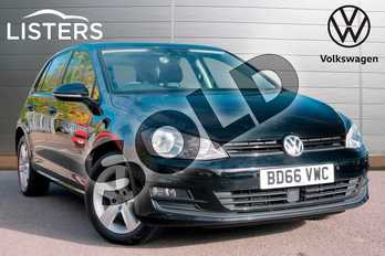 Volkswagen Golf 2.0 TDI Match Edition 5dr in Flat Black at Listers Volkswagen Leamington Spa