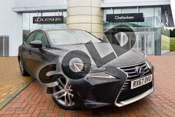 Lexus IS 300h Advance 4dr CVT Auto in Black at Lexus Cheltenham