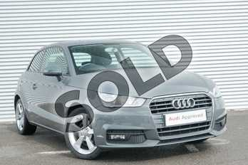 Audi A1 1.6 TDI Sport 3dr in Nano Grey Metallic at Coventry Audi