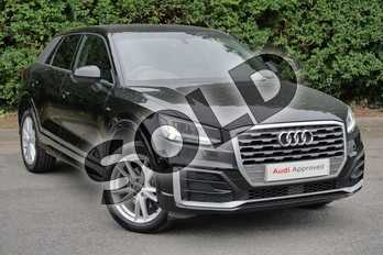 Audi Q2 1.4 TFSI S Line 5dr S Tronic in Myth Black Metallic at Worcester Audi