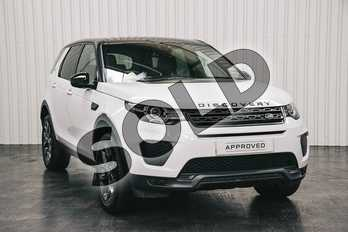 Land Rover Discovery Sport 2.0 TD4 (180hp) Landmark in Yulong White at Listers Land Rover Solihull