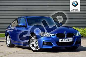 BMW 3 Series 330d M Sport 4dr Step Auto in Estoril Blue at Listers Boston (BMW)