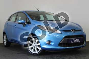 Ford Fiesta 1.4 Zetec 5dr Auto in Metallic - Ink blue at Listers U Stratford-upon-Avon
