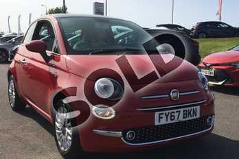 Fiat 500 1.2 Lounge 3dr in Special - Pasodoble red at Listers Toyota Lincoln
