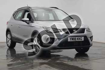 SEAT Arona 1.0 TSI 115 SE Technology 5dr DSG in Silver at Listers SEAT Coventry
