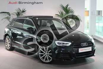 Audi A3 1.4 TFSI S Line 5dr in Myth Black Metallic at Worcester Audi