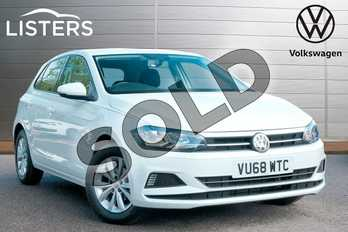 Volkswagen Polo 1.0 TSI 95 SE 5dr in Pure White at Listers Volkswagen Leamington Spa