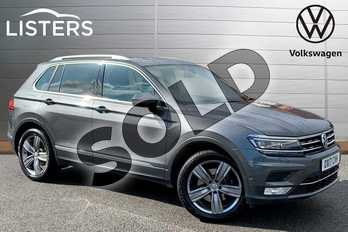 Volkswagen Tiguan 2.0 TSI 180 4Motion SEL 5dr DSG in Indium Grey at Listers Volkswagen Stratford-upon-Avon