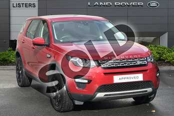 Land Rover Discovery Sport 2.0 TD4 (180hp) HSE in Firenze Red at Listers Land Rover Droitwich