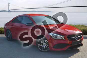 Mercedes-Benz CLA CLA 180 AMG Line 4dr in jupiter red at Mercedes-Benz of Hull