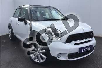MINI Countryman 1.6 Cooper S ALL4 5dr in Solid - Light white at Listers U Solihull