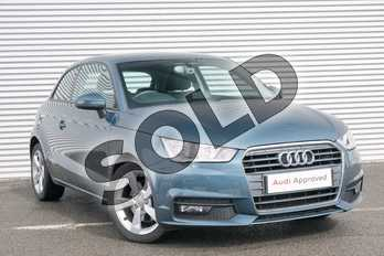 Audi A1 1.4 TFSI Sport 3dr in Utopia Blue Metallic at Coventry Audi